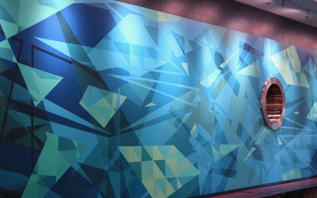 3D Arts Mural